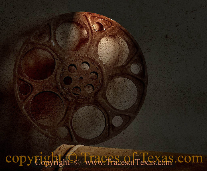 Title:   Pass Me the Popcorn<br /> <br /> Comments: I was fortunate enough to be allowed into the old Arcadia Theater and found this in the projection room.<br /> <br /> Location: Temple