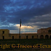 "Title:   Alamo Compound at the Crack of Dawn<br /> <br /> Comments:  Sadly, with the recent passing of Texas ranching icon Virginia Shahan, the Alamo Village will no longer be open to the public. I was lucky enough to spend a couple of days out there before it closed. This is where John Wayne filmed ""The Alamo."" It was also featured in ""Lonesome Dove"" and many others. <br /> <br /> Location: Brackettville, Texas"