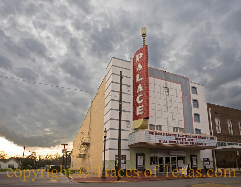 Title:  Sanguine Seguin<br /> <br /> Comments:  Downtown Seguin is really quite picturesque.  I like the fact that they are tending to both of their old theaters. <br /> <br /> Location:  Seguin