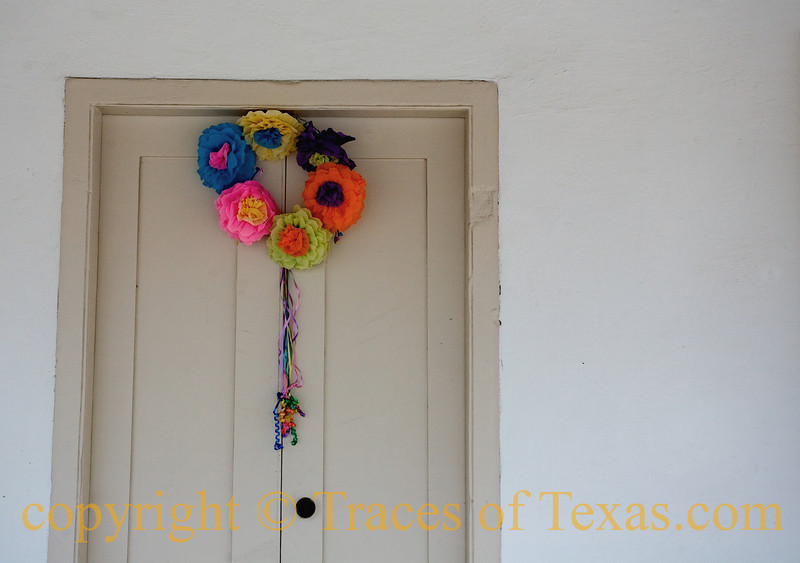 Title: Navarro's Door<br /> <br /> Comments: Jose Navarro was one of the true giants of Texas history.   This is the door on his house in San Antonio. <br /> <br /> Location: San Antonio