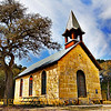 Title: Polly's Chapel<br /> <br /> Comments:  Polly's Chapel was built in 1882 by Jose Policarpo Rodriguez, a man who lead an amazing life on the frontier of Texas.<br /> <br /> Location:  Bandera