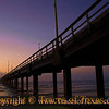 Title:   It's Another Tequila Sunrise <br /> <br /> Comments: The Horace Caldwell pier is a place of reverence. There is nothing like being out on the pier as the sun slides gently above the eastern horizon.<br /> <br /> Location: Port Aransas
