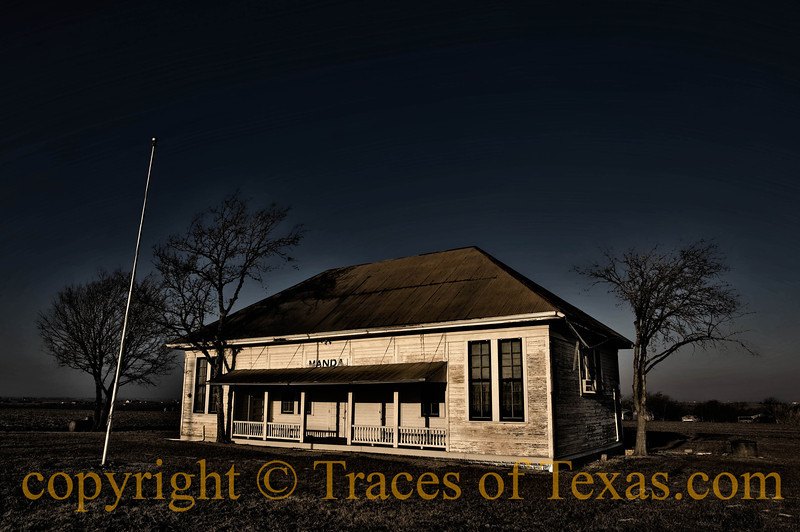 Title: Manda<br /> <br /> Comments: The old schoolhouse still stands.<br /> <br /> Location: Manda