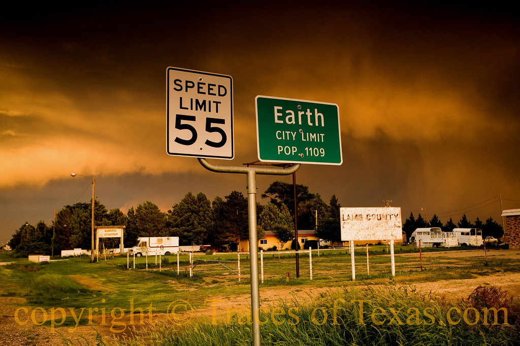 Title:   At the edge of Earth<br /> <br /> Comments: Storm clouds over Earth, Texas<br /> <br /> Location: Earth, Texas