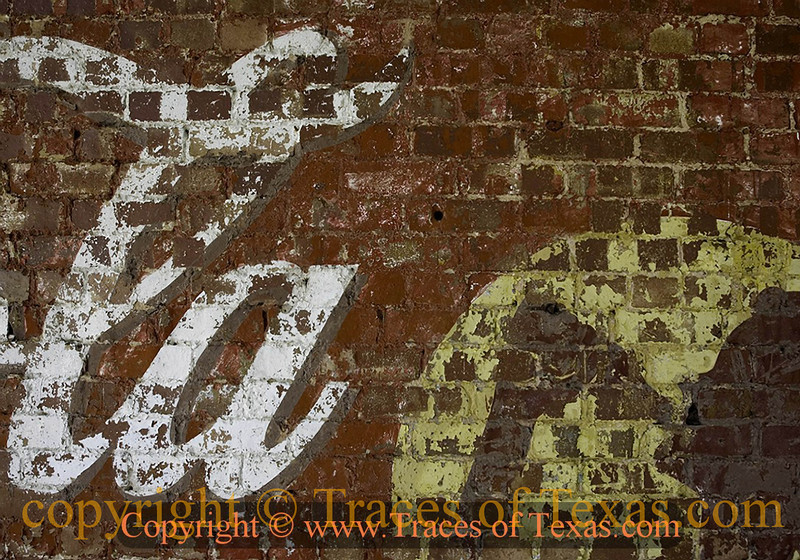 Title:   It's the Real Thing<br /> <br /> Comments: Every time I see a Coca Cola ghost sign, I think of that old commercial about apple trees and honey bees and snow white turtle doves.<br /> <br /> Location: