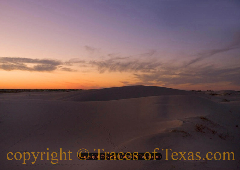 Title:   Stirred but not Shaken<br /> <br /> Comments: Monahans is a place of ever-unfolding delights. <br /> <br /> Location: Monahans State Park