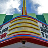 Title:   Dances with Wolves? No. Laughs at Multiplexes <br /> <br /> Comments: The beautifully restored Ritz Theater in Snyder, Texas has the kind of style that the 16 screen megamall multiplex will never, ever have.<br /> <br /> Location:Snyder, Texas