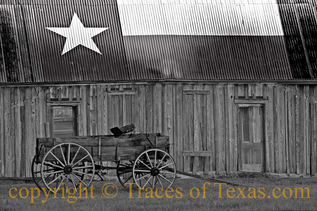 Title:   Wagons ..... HO!<br /> <br /> Comments: I am a sucker for this kind of stuff whenever I see it on some forgotten dirt road.<br /> <br /> Location: Tolar, Texas