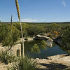 Title:   Big Spring <br /> <br /> Comments: A true oasis, the spring in Big Spring has served as a gathering spot for humans for thousands of years. Prehistoric people, Amerinds, Spaniards, Mexicans, Anglo --- all converged here.. The Comanche 'War Trail' to Mexico branches at the spring.<br /> <br /> Location: Big Spring, Texas