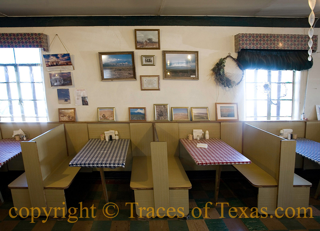 Title:   Salt Flat Cafe <br /> <br /> Comments: The simple, hearty Tex-Mex has pleased many a weary traveler over the last 70 years. <br /> <br /> Location: Salt Flat