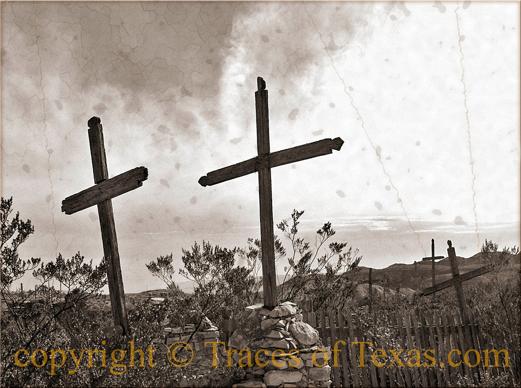 Title: Dust to Dust<br /> <br /> Comments: Old charro graves in west Texas.<br /> <br /> Location: West Texas