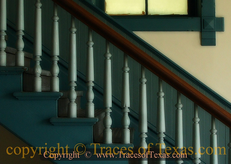 Title:  Stairway to Justice <br /> <br /> Comments: The interior of the Wilson county courthouse.  The restoration effort has yielded spectacular results. <br /> <br /> Location: Floresville