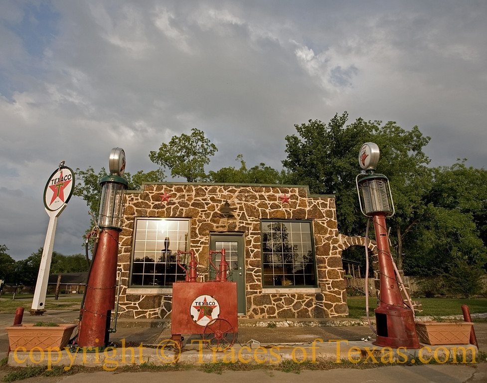 Title: Livin' Life by the Drop<br /> <br /> Comments: LOVE these Old Gas Stations!<br /> <br /> Location: Jefferson