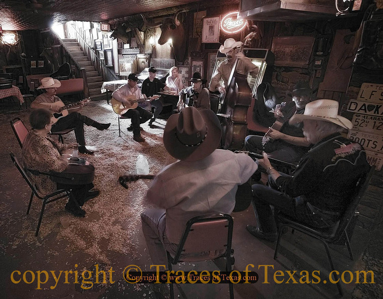 Title:   Mamas Don't Let Your Babies Grow Up to be Cowboys<br /> <br /> Comments: Informal picking session. <br /> <br /> Location: Bandera