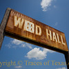 <br>Title: To Waltz Across Texas With You in My Arms  Comments: Ernest Tubb is one of just many to have played at the Wied Hall. Built in 1896 by Czech immigrants, the hall is weathered on the outside but, on the inside, has floors that have been polished smooth by dancers over the decades.  Wied has a population of 64 people.   Location: Wied