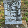 Title:   God's Finger Touched Him and He Slept<br /> <br /> Comments: I was struck by the words at the bottom of this tombstone. Mr. Arnold lived about 50 years --- from 1852 to 1902 --- and was buried in this small, extremely rural Texas cemetary. 104 years later, I stumbled upon his tombstone. He has not been completely lost to us.<br /> <br /> Location: Sparks