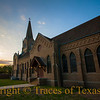 Title:  From my Heart's Monastic Aisles<br /> <br /> Comments: Just another beautiful church in another small Texas town. <br /> <br /> Location: Granger