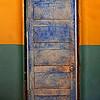 Title:   Blue Door<br /> <br /> Comments: In the non-denominational church in Terlingua.<br /> <br /> Location: Terlingua, Texas