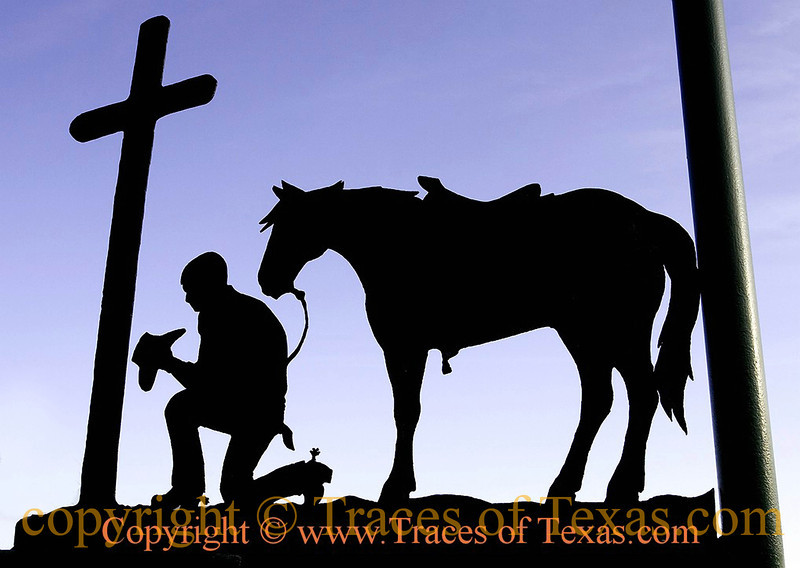 Title: A Cowboy Prayer<br /> <br /> Comments: Cowboy Churches are growing in popularity. Given that just about anything is more fun when horses are involved, the appeal is not hard to understand.<br /> <br /> Location: