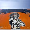 Title: Remember Gonzales!<br /> <br /> Comments:  The Gonzales High School Apaches' scoreboard is primed and ready for another season of football dominance.<br /> <br /> Location: Gonzales