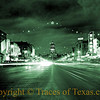 Title: 1947<br /> <br /> Comments:  Congress Avenue in Austin back in 1947.   One in a series of colored images. <br /> <br /> Location: Austin