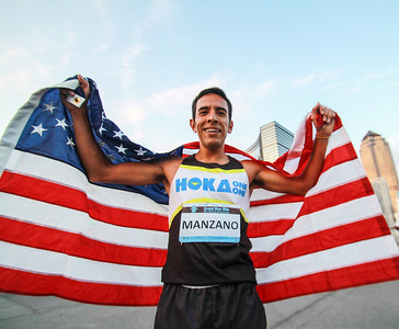 Leo Manzano - 2014 USA 1 Mile Road Champion