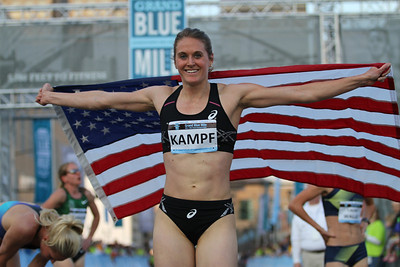 Heather Kampf - 2014 USA 1 Mile Road Champion
