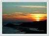 Sunset at Borth-y Guest. Sat 20 Nov