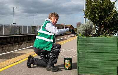 March 27th 2021. Deal station tidy up