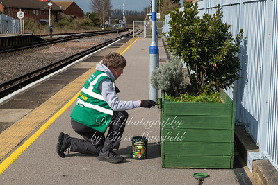 March 27th 2021, Deal station tidy up