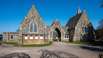 April 4th 2021 .  Hamilton road Cemetwry chapels