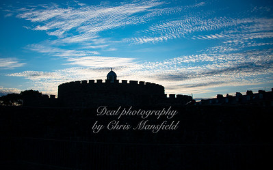 Aug' 14th 2021 Deal castle at Dusk