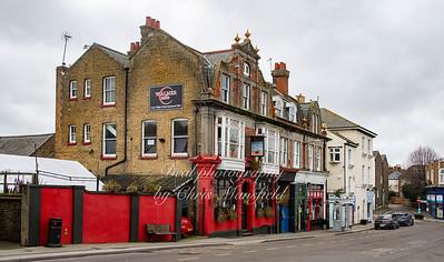 Dec' 26th 2020 Walmer castle pub, South street