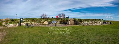 Feb 24th 2021. Sandown castle gardens