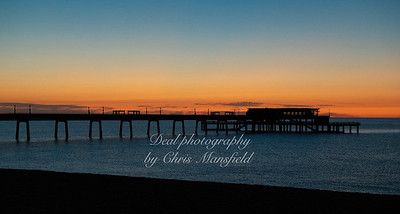 July 22nd 2020. Deal Pier just before sunrise