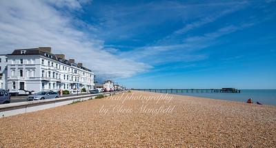 July 12th 2020 Deal Beach on a warm sunny Sunday