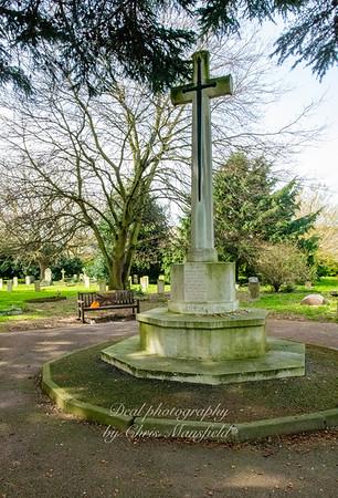March 31st 2021 Hamilton road cemetery war memorial