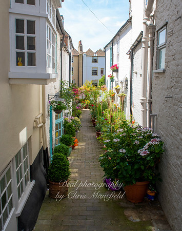 July 18th 2020.  Small passage off Middle street