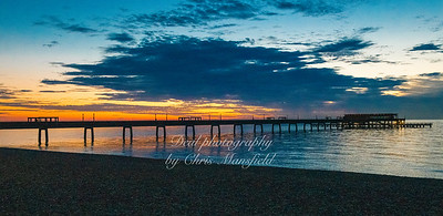 Aug' 15th 2021 Deal pier at Dawn