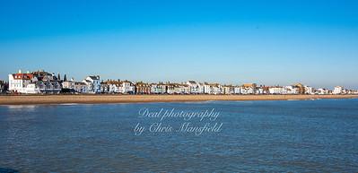 Jan' 25th 2021.  Beach street, Deal... from the pier