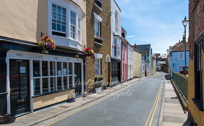 July 18th 2020 . Middle street , Deal