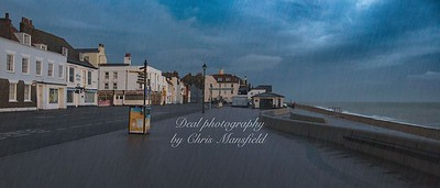 Nov' 15th 2020 .  A wet & Windy Sunday morning on Deal front