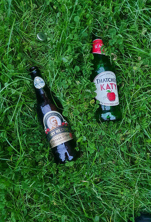 Sept' 4th 2021 ...  At least 3 times a week someone leaves 2 empty cider bottles in exactly the same spot at Hamilton road cemetery ... outside the mens toilets... a creature of habit? or just a weak bladder ???