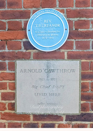 2 plaques on the Seamans mission, Beach street , Deal