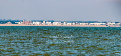 Distant view of Deal from Goodwin sands