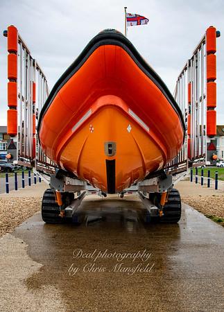 Sept 7th 2020 . Walmer lifeboat