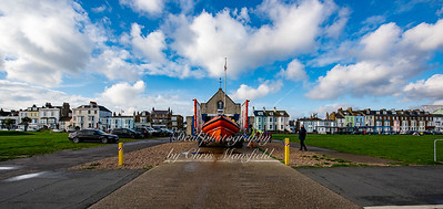Dec' 6th 2020. Walmer lifeboat
