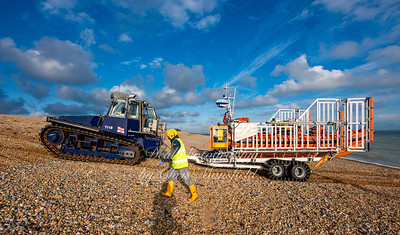 Dec' 6th 2020 Walmer lifeboat returns to base
