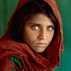 "<font size=""3""><font face=""arial"">Sharbat Gula. 'Afghan Girl' Nasir Bagh refugee camp in Pakistan, 1984."