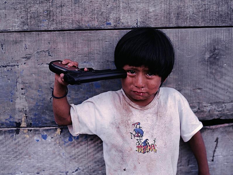 Young boy, Alto Churumazu, Yanesha, Peru, 2004